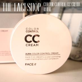 THE FACE SHOP AURA CC CREAM[REVIEW]