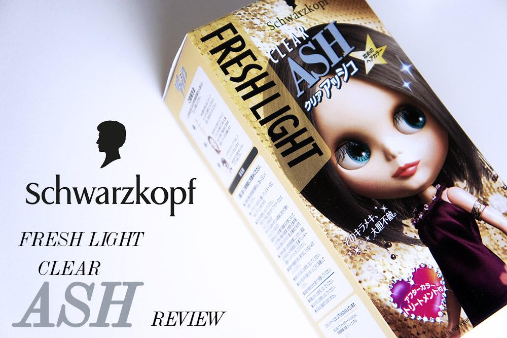 Schwarzkopf Fresh Light Clear Ash Hair Dye Review Toning Down Red