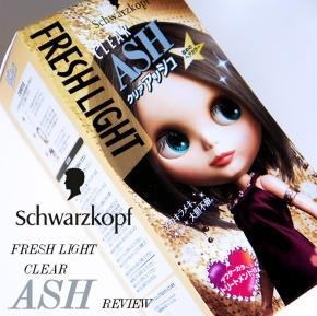 SCHWARZKOPF FRESH LIGHT CLEAR ASH HAIR DYE [REVIEW]: Toning down redtones.