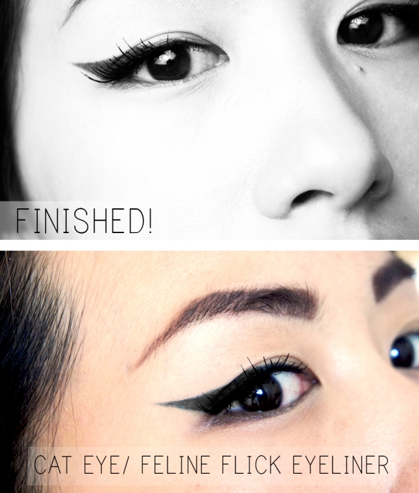 How to do a cateye eyeliner tutorial