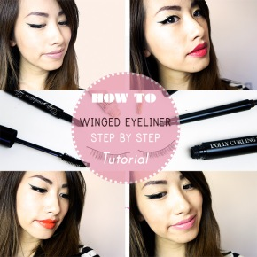 STEP BY STEP: HOW TO DO THE CATEYE OR WINGED EYELINER LOOK