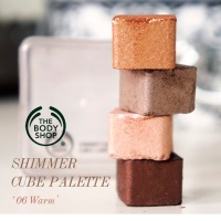 THE BODY SHOP SHIMMER CUBE REVIEW & SWATCHES