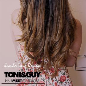 GET BIG LOOSE CURLS WITH TONI&GUY JUMBO TONG[REVIEW]*