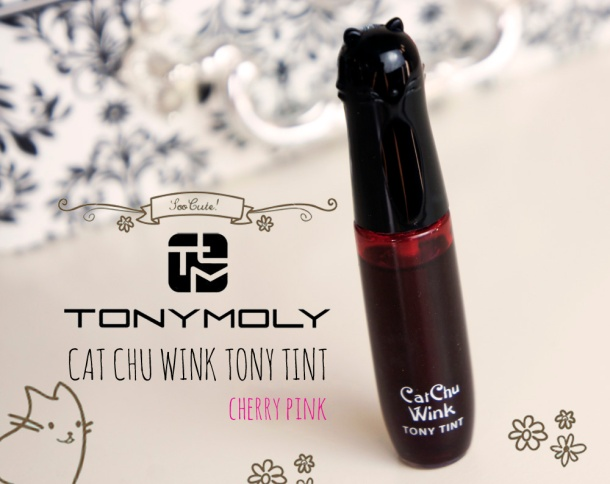 Tonymoly Cat Chu Wink Tint review & swatch