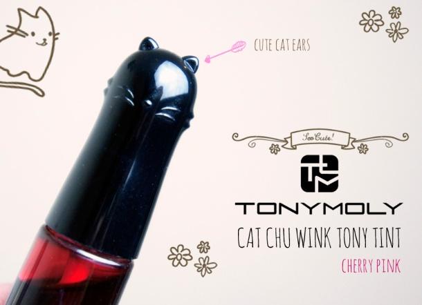 Tonymoly Cat Chu Wink Tint review & swatch
