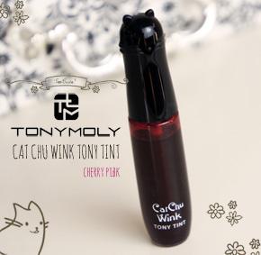 Tonymoly Cat Chu Wink Tony Tint Review &Swatches
