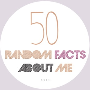 50 Random Facts aboutme