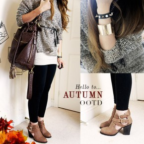 OOTD: Say hello to Autumn