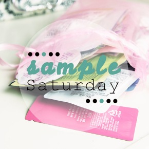 SAMPLE SATURDAY: What's it allabout!