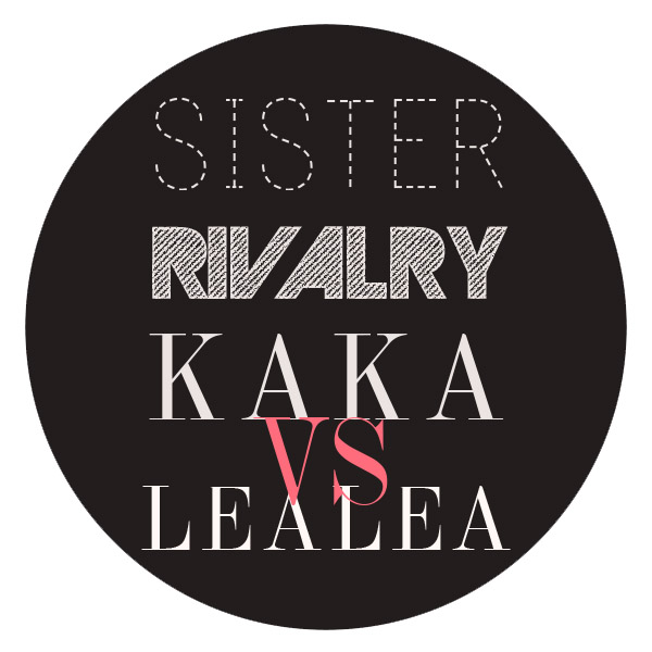 SISTER RIVALRY STAMP