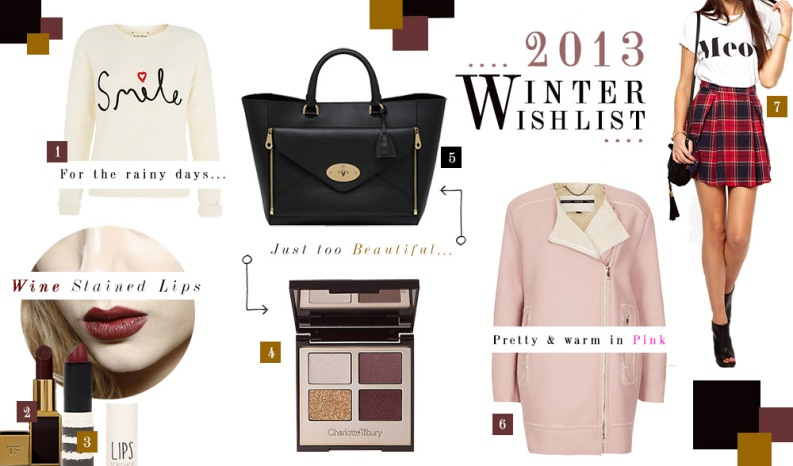 2013 Winter Wishlist