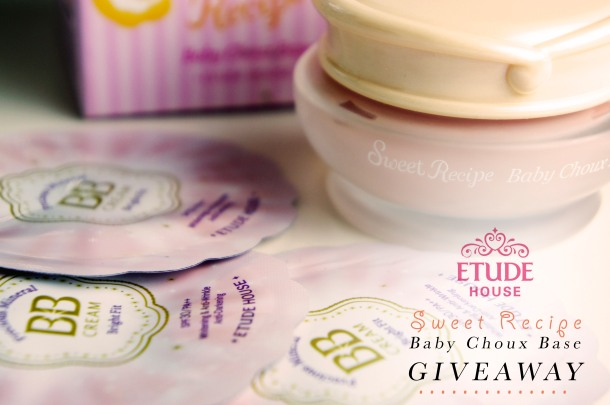Etude House Sweet Recipe Baby Choux Base Review + Giveaway