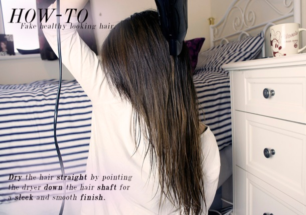 Tips and tricks on how to get healthier looking hair for dry and damaged hair