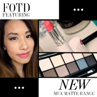 FOTD: FEATURING MUA NEW MATTE PALLETE AND LIPSTICK