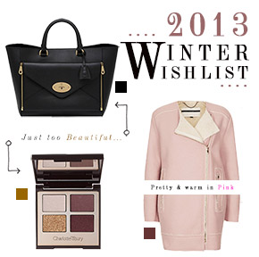 SISTER RIVALRY: 2013 WINTER WISHLIST