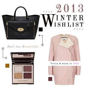 SISTER RIVALRY: 2013 WINTERWISHLIST