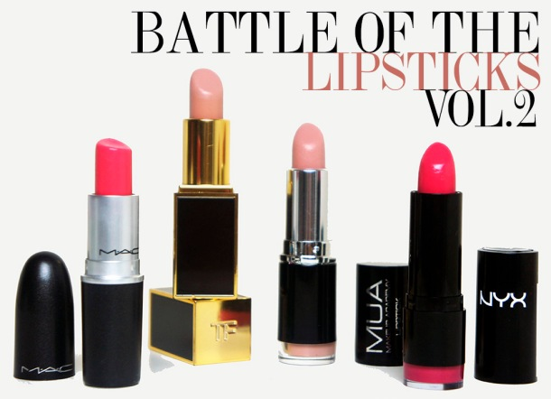 Best Nude and Bright lipsticks