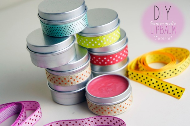 HOW TO MAKE LIPBALMS TUTORIAL