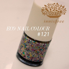 NOTD: Innisfree nail polish in 121 review and swatch
