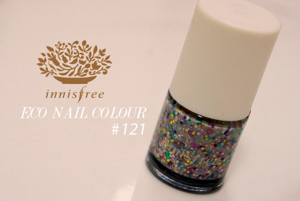 Innisfree nail polish in 121 review and swatch