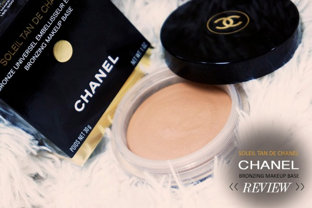SONY CHANEL SOLEIL TAN DE CHANEL BRONZING MAKEUP BASE REVIEW AND SWATCH