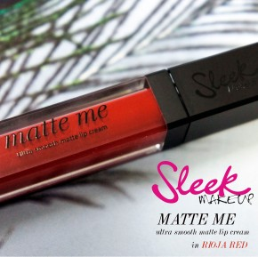 Sleek Matte Me in Rioja Red Review & Swatch