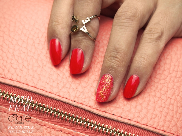 CORAL NAILS: NOTD FEATURING CIATE NAIL POLISH IN PLAYDATE
