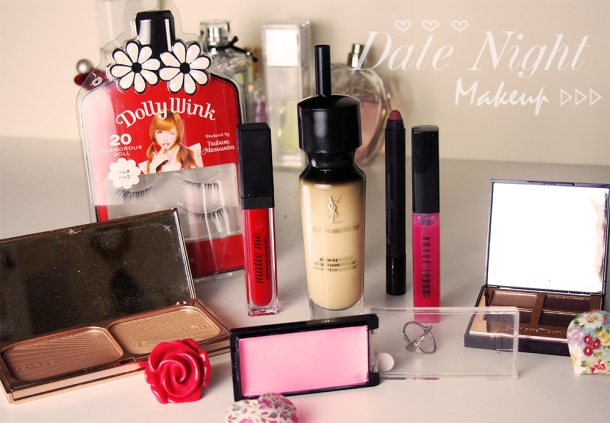 DATE NIGHT MAKEUP LOOK AND BEAUTY TIPS