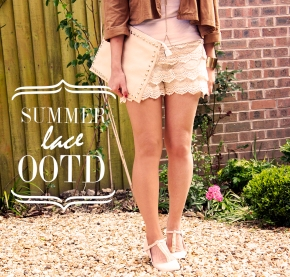 OOTD: SUMMER/LACE SHORTSOUTFIT