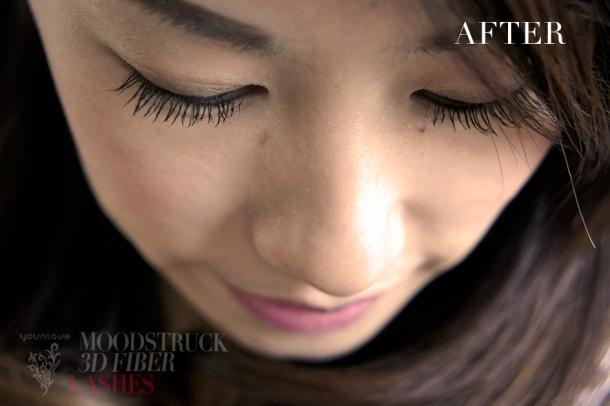 Younique Moonstruck 3D fiber lash mascara results and review